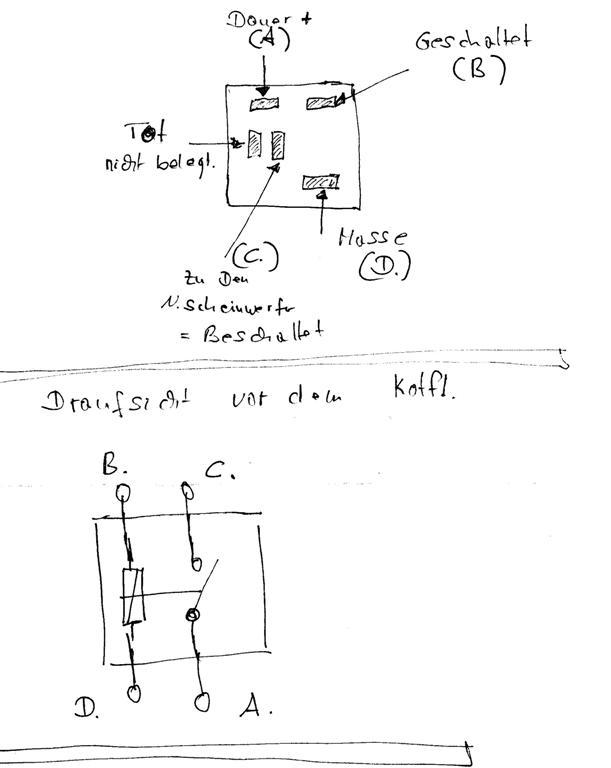 Alternative zum Teuren Relais für Nebelscheinwerfer. - Opel & ISUZU ...