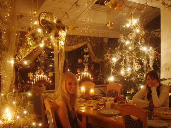 wohnzimmer weihnachtlich dekorieren – abomaheber, Wohnzimmer