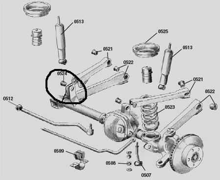 Upper Control Arm Bushing Problem 1141020