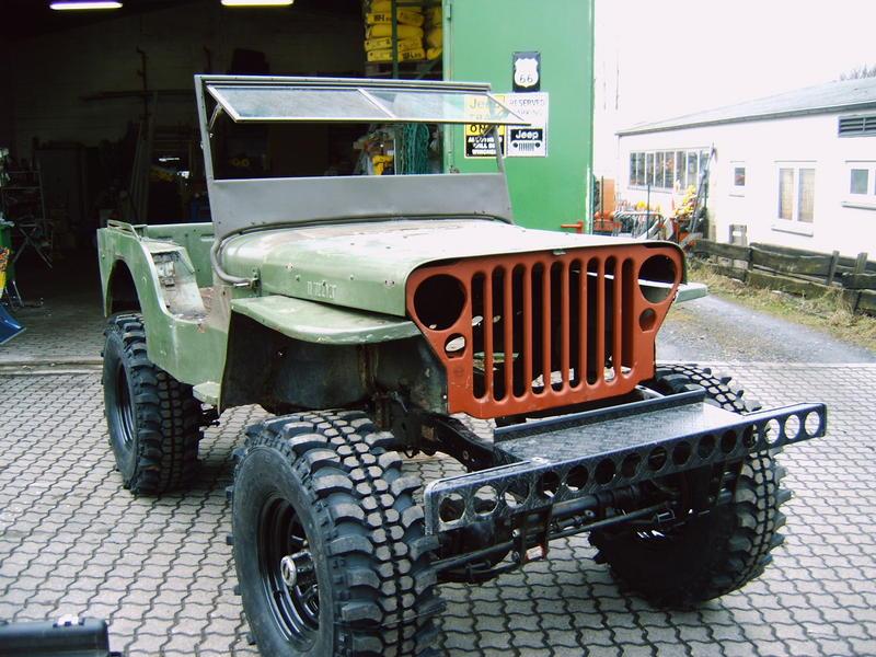 Ungewöhnlich Willys Jeep Kabelbaum Galerie - Der Schaltplan ...