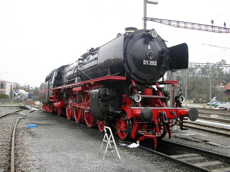 Die Baureihe 01 der DB in Gross und Klein 6194902yol