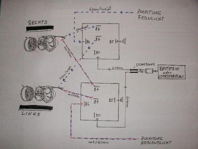 Fragen zu Relais Elektrik - Seite 2