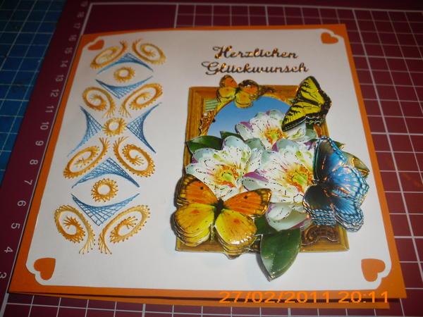 Fadengrafik in orange-blau 6443098bxo