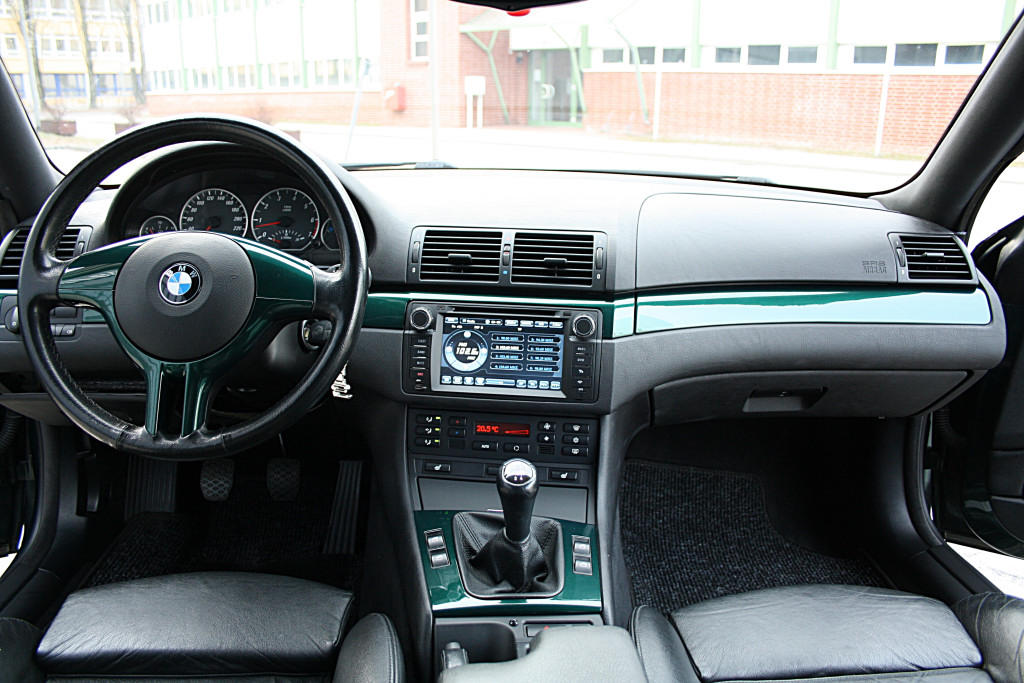 Bilder lackierte interieurleisten e46 interieur bmw for Bmw e46 interieur
