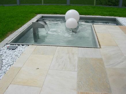 wasserstelle in terrasse eingelassen forum auf. Black Bedroom Furniture Sets. Home Design Ideas