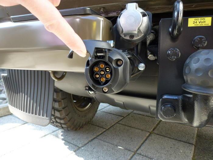 Anhängerstecker Adapter 24V auf 12V Reduzierung ISO - Sonstige Teile ...