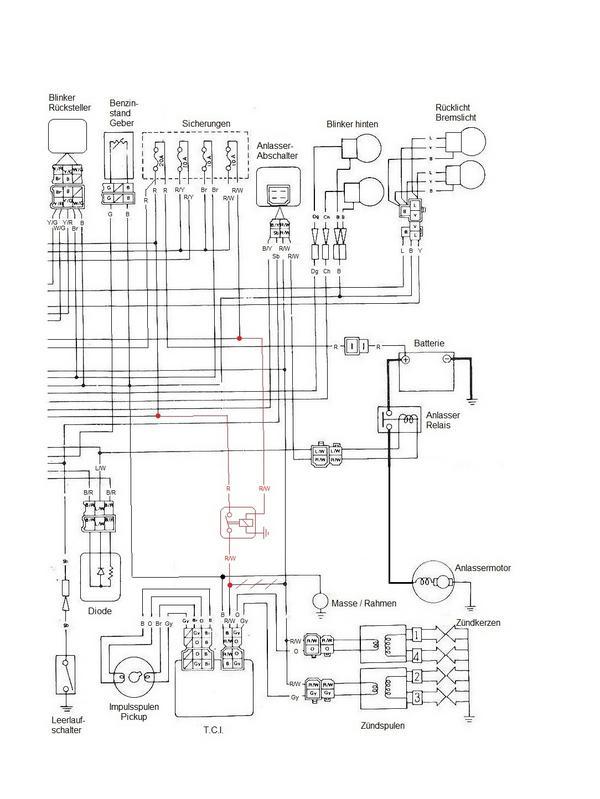Tolle Yamaha 650 Schaltplan Galerie - Der Schaltplan - greigo.com