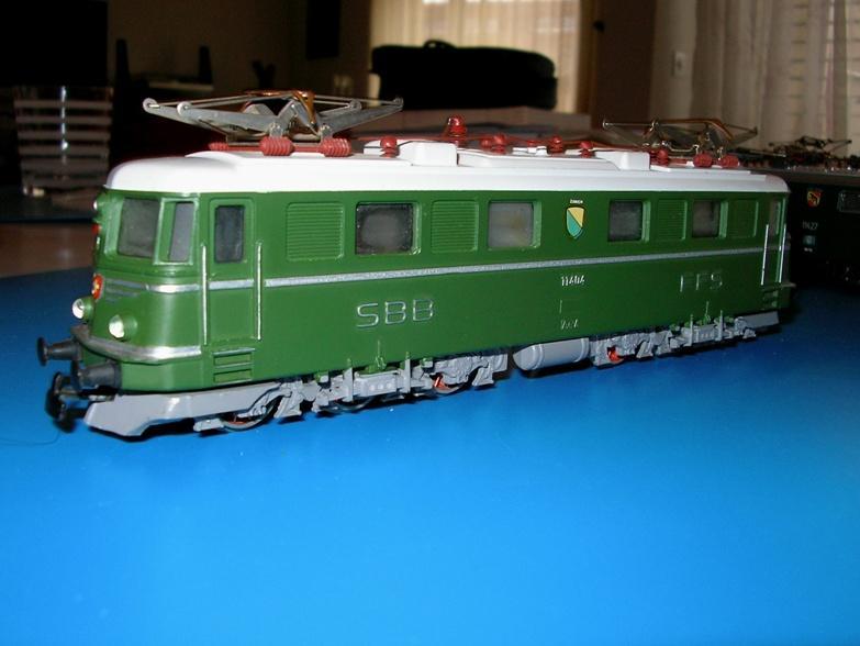 Kleinbahn Ae 6/6 11404 SBB 6998107ysf