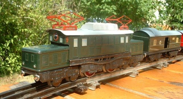 Distler Spur 0 große E-Lok mit Drehstrommotor 7048257fyv