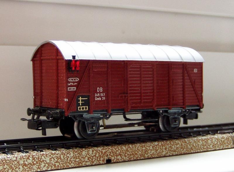 Gedeckter Güterwagen Gmh 39 der DB - Märklin #4506 7136254ngt