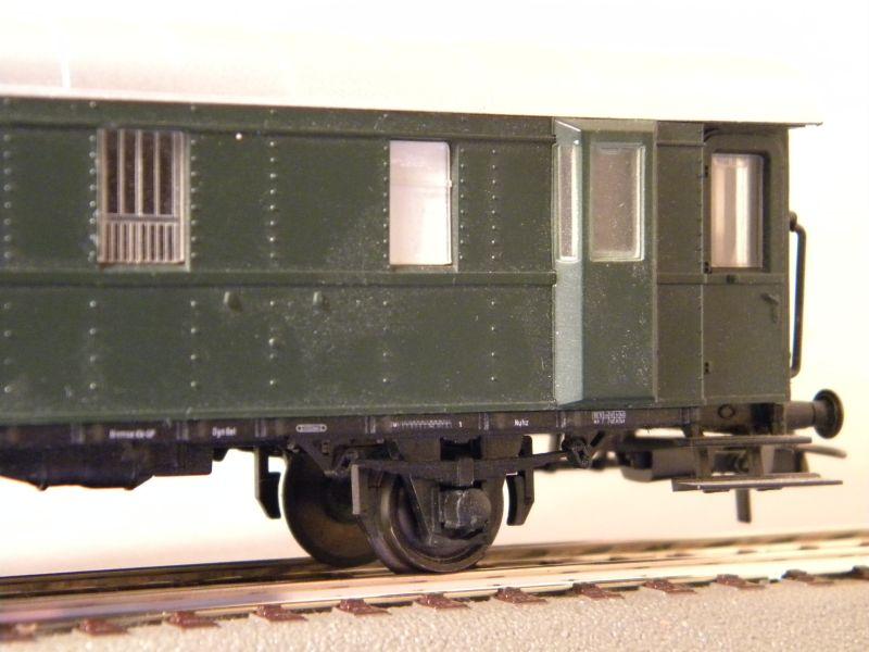 Sachsenmodelle: Donnerbüchse + Packwagen der ÖBB 7137621pra
