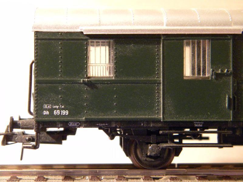 Sachsenmodelle: Donnerbüchse + Packwagen der ÖBB 7137622vjy
