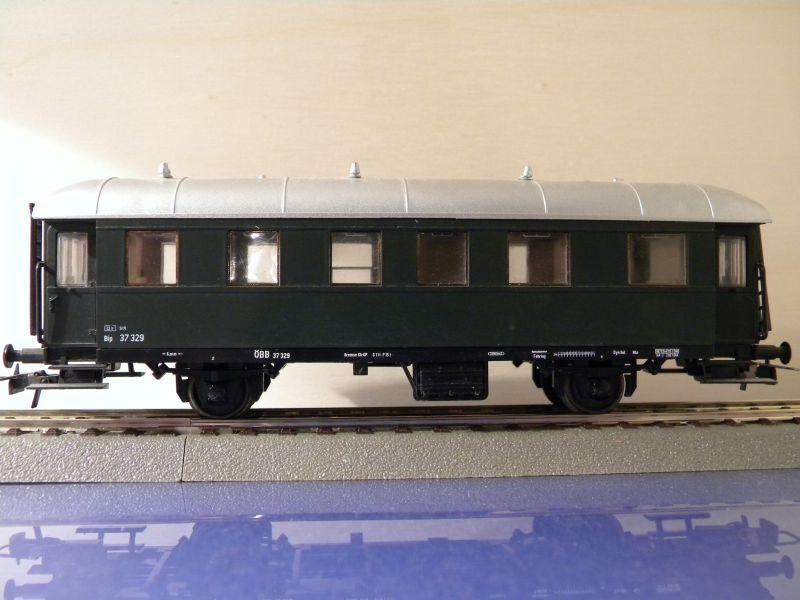 Sachsenmodelle: Donnerbüchse + Packwagen der ÖBB 7137626snh