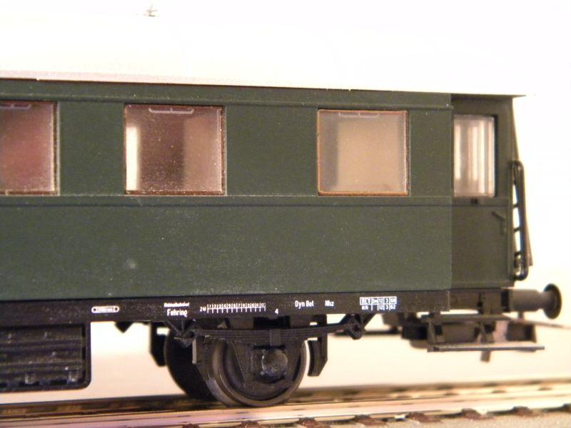 Sachsenmodelle: Donnerbüchse + Packwagen der ÖBB 7137628sdw