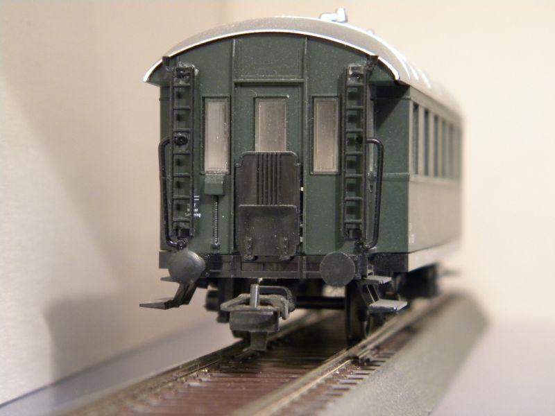 Sachsenmodelle: Donnerbüchse + Packwagen der ÖBB 7137629ktb