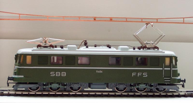 Kleinbahn Ae 6/6 11404 SBB 7138791eeq