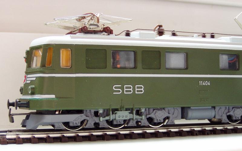 Kleinbahn Ae 6/6 11404 SBB 7138792wve