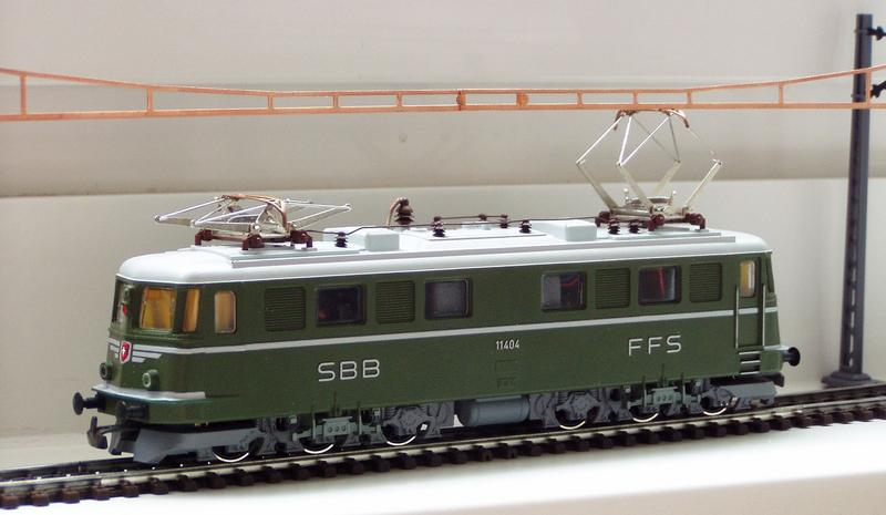 Kleinbahn Ae 6/6 11404 SBB 7138801pap