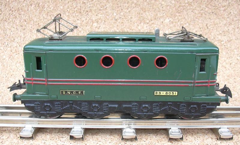 Hornby/Meccano E-Lok Spur 0 7257414vun