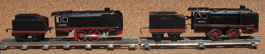 Zwei Distlerloks Spur 0 im Vergleich 7276057vtg