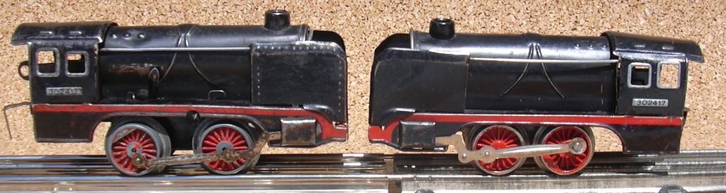 Zwei Distlerloks Spur 0 im Vergleich 7276069flp