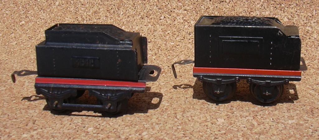 Zwei Distlerloks Spur 0 im Vergleich 7276074hlu