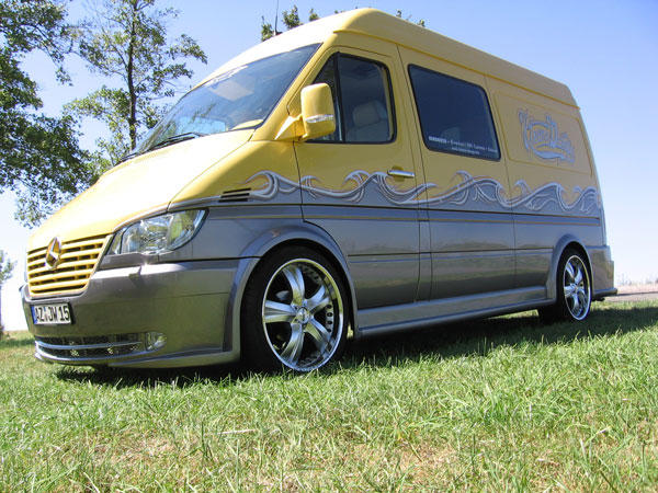 Pimped Out Sprinter Van >> Mercedes sprinter pimp