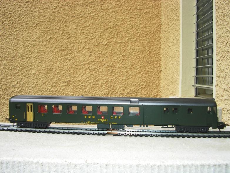 SBB Steuerwagen BDt 7279008pta