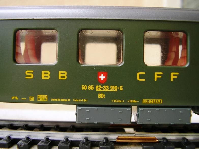 SBB Steuerwagen BDt 7279009frn