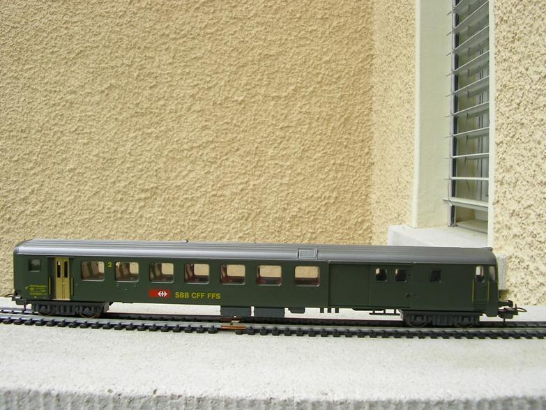 SBB Steuerwagen BDt 7279031jcr