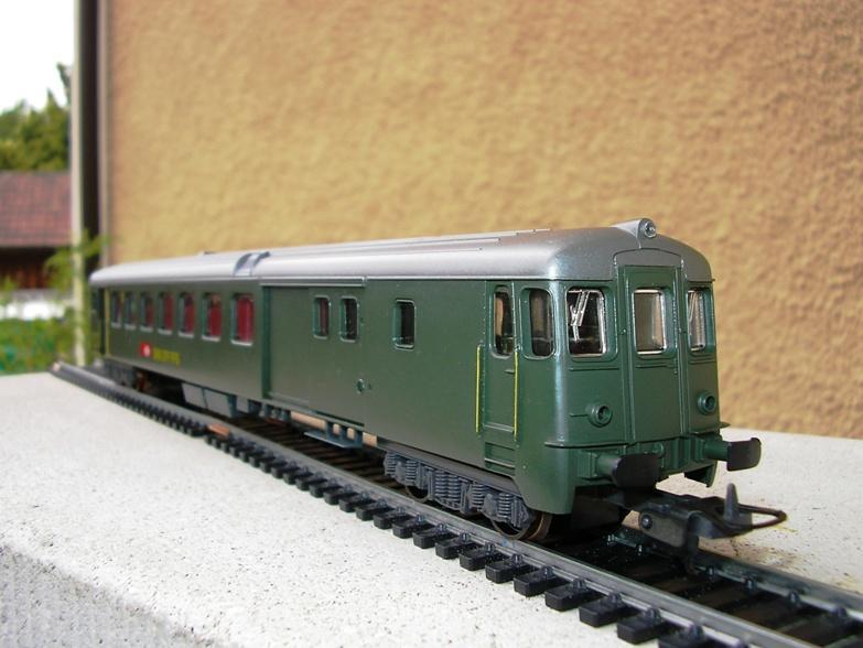 SBB Steuerwagen BDt 7279033bxl