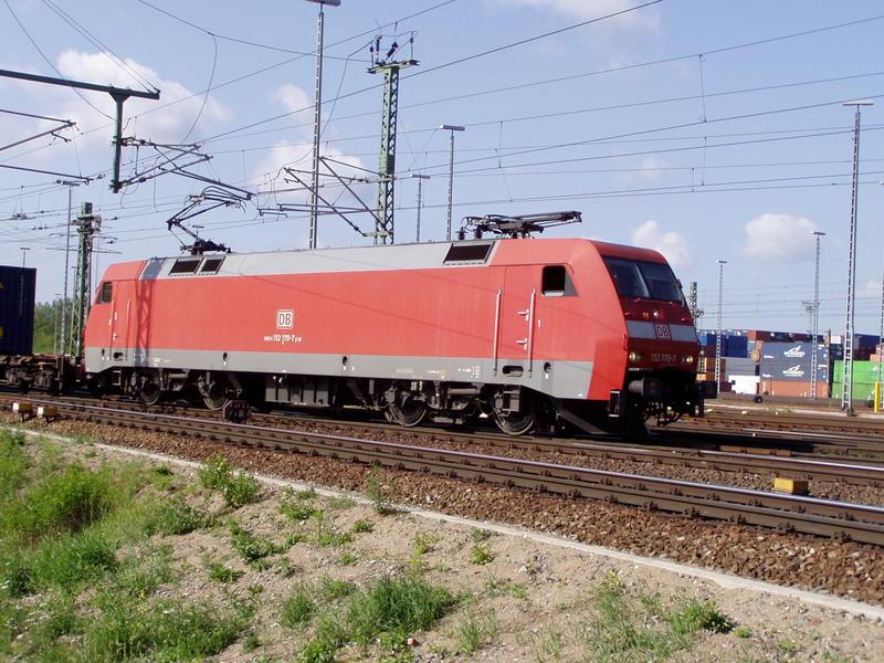Hamburg und die Eisenbahn 7350137udk