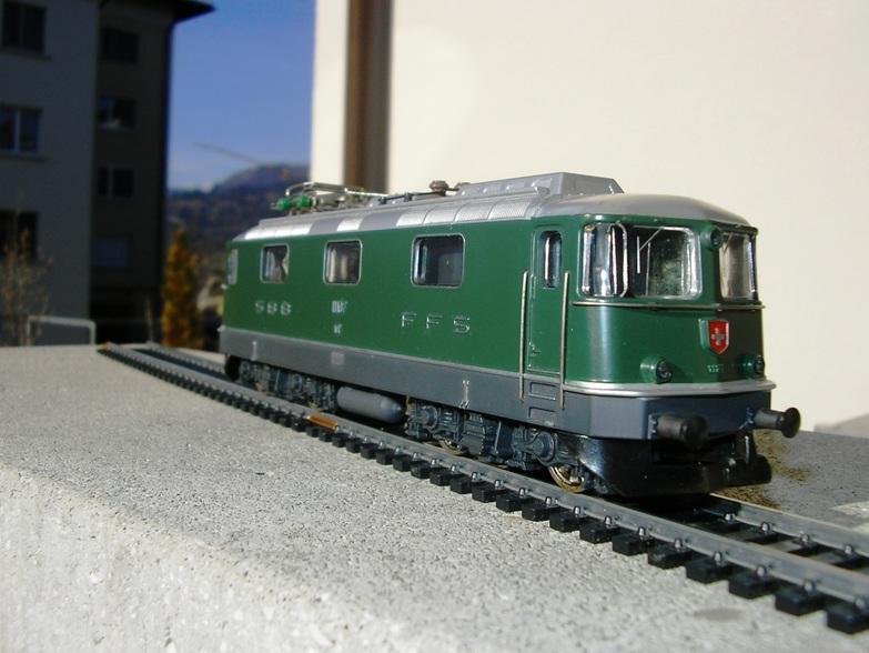 HAG SBB Re 6/6 Vorserie 7420256mfh