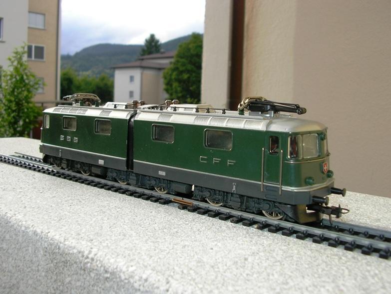 HAG SBB Re 6/6 Vorserie 7420347nrn