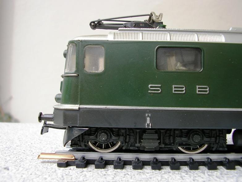 HAG SBB Re 6/6 Vorserie 7420352dhm