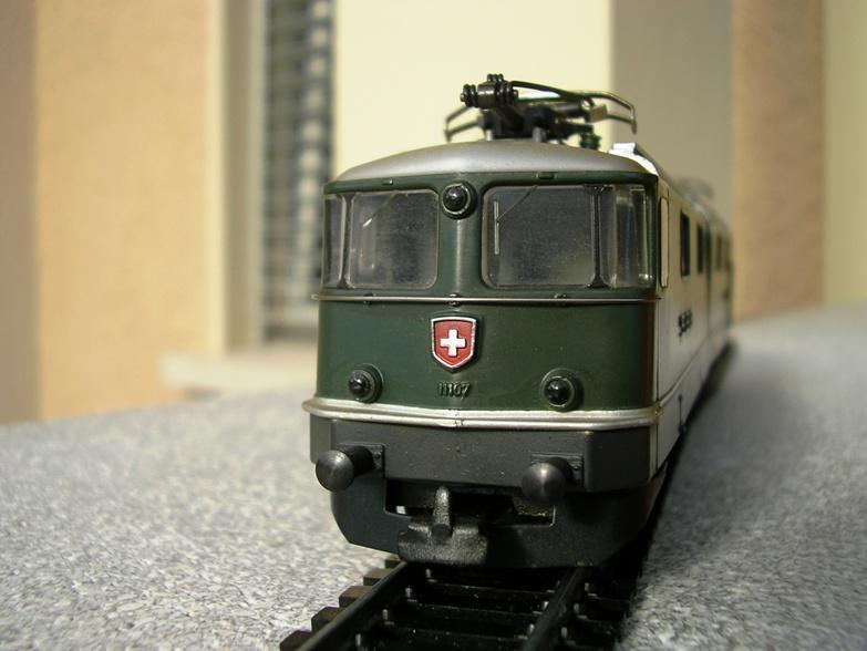 HAG SBB Re 6/6 Vorserie 7420354fjn