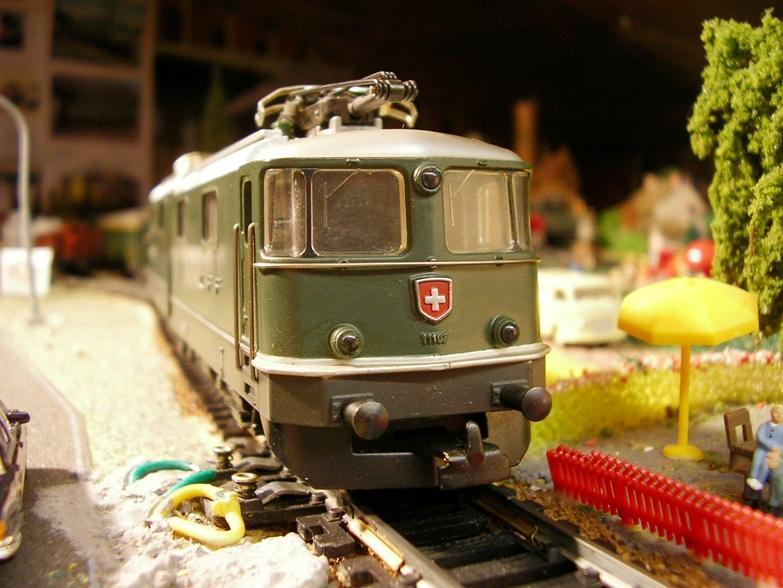 HAG SBB Re 6/6 Vorserie 7420356cig