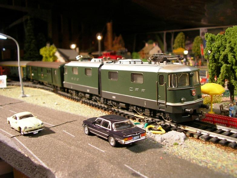 HAG SBB Re 6/6 Vorserie 7420358sie