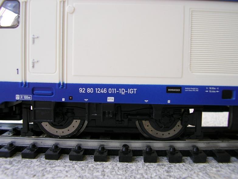 """DB BR 246 """"175 Jahre Deutsche Eisenbahnen"""" 7428514wlt"""