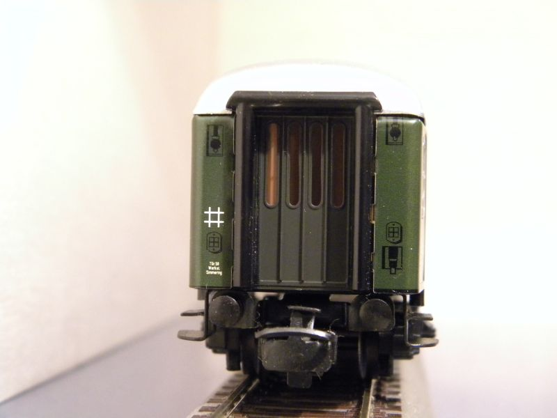 Märklin 0766-6 D-Zug Wagen ÖBB, 2 Klasse 7460916kuw