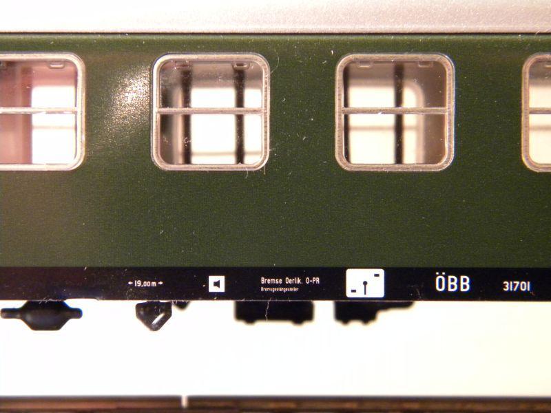Märklin 0766-6 D-Zug Wagen ÖBB, 2 Klasse 7460919tvh