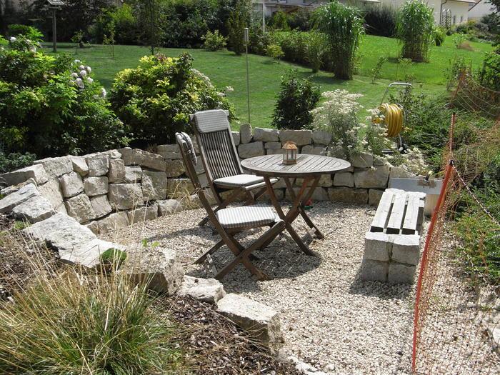 gartensitzecke anlegen – rekem, Garten Ideen