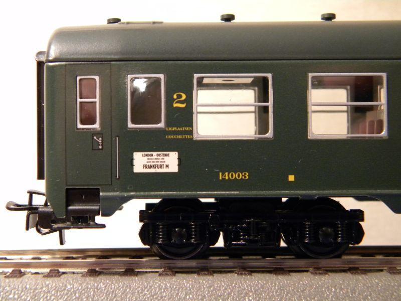 4Achser, B, grün, aus Display Tinplate 7526438ynf