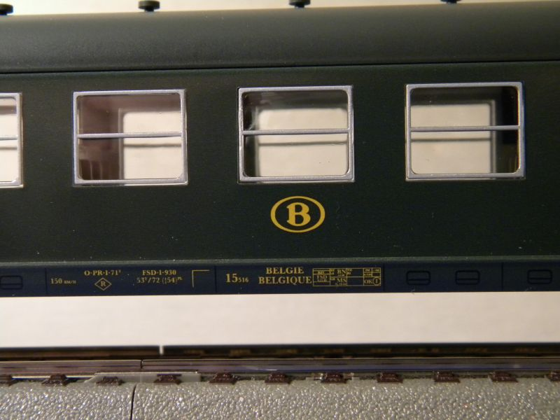 4Achser, B, grün, aus Display Tinplate 7526439gzl
