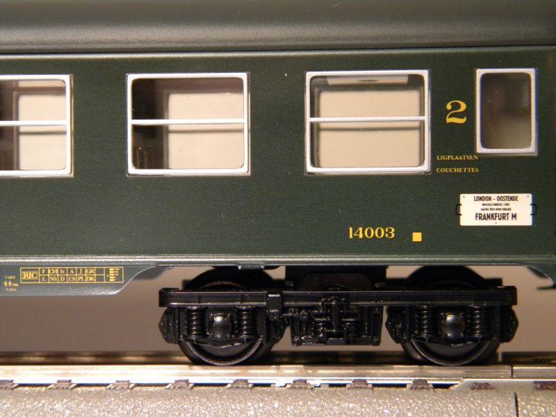 4Achser, B, grün, aus Display Tinplate 7526441jmq