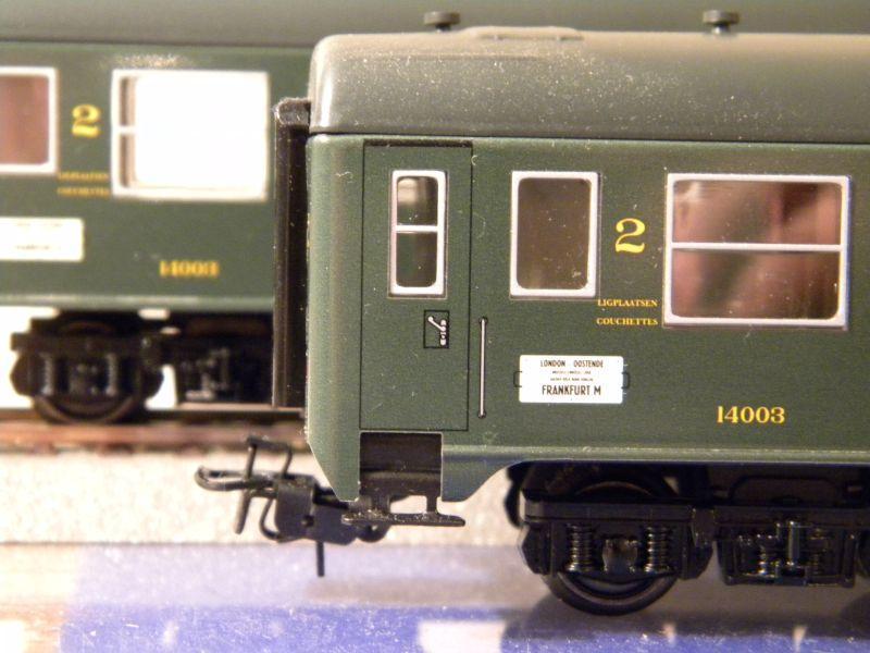 4Achser, B, grün, aus Display Tinplate 7526442bor