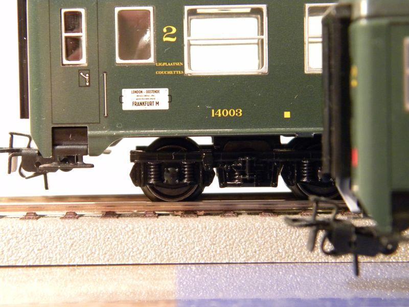 4Achser, B, grün, aus Display Tinplate 7526443aft