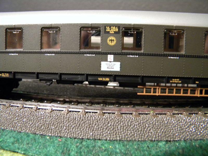 """BR03 mit Stromlinienverkleidung und """"Hechten"""" 7617415mzt"""