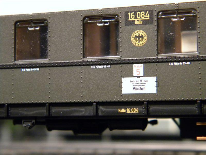 """BR03 mit Stromlinienverkleidung und """"Hechten"""" 7617454asv"""