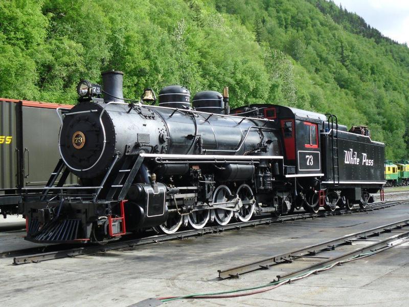 W.P. & Y. R. Dampfloks 7656129rtv